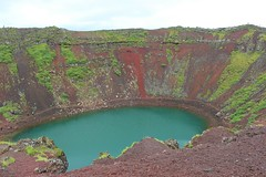 Iceland 8.22.15 4484 (mkalbis) Tags: kerith volcaniclake redsoil iceland2015
