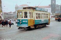 Rua das Carmelitas / Praca de Lisboa (ernstkers) Tags: 206 brill porto portugal stcp stcp206 streetcar tram tramvia tranvia trolley elctrico strasenbahn bonde sprvagn
