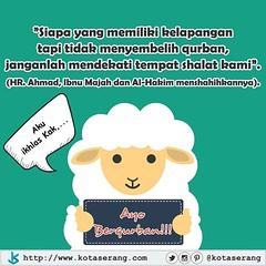 Berbagi Qurban, berbagi kebahagiaan. Ayoo berqurban dulur sedanten.. #qurban #iduladha #sedekah #kotaserang #kotakita #serang #Banten #Indonesia . http://kotaserang.net/1J24vh9 (kotaserang) Tags: indonesia serang kotakita qurban iduladha banten berbagi ayoo sedekah dulur kebahagiaan kotaserang berqurban instagram ifttt httpwwwkotaserangcom sedanten