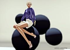 GizzA & ArisAris... (lukreciamerchiston) Tags: secondlife shorts tacones spheres sfere esferas
