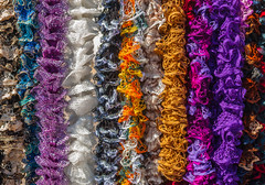 ColorLace-5912 (Barta IV) Tags: texture lines scarf colorful display lace craft string