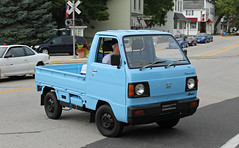 Honda TN Acty 4WD (RudeDude2140a) Tags: blue classic car truck honda kei tn 4wd pickup acty