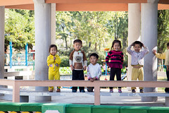 Children in Kangso's kindergarten (bvoneche) Tags: kp coredunord southpyongan