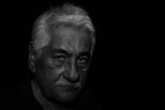 My Old Man (Anthony-Rivera) Tags: old man dad emotion father mafia expresion