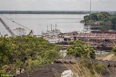 Muelle de Ferrominera Orinoco (Julio Csar Mesa) Tags: america canon de muelle san felix venezuela bolivar streetphotography ciudad latino estado orinoco guayana 2015 ferrominera juliocesarmesa