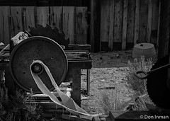 Bodie Sawmill (Bodie No. 10) (doninmanphotography) Tags: california blackandwhite usa us unitedstates fineart northamerica ghosttown bodie sawmill centralcalifornia easternsierra