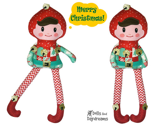 Flickriver Photoset Christmas Sewing Patterns By Dolls And Daydreams