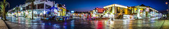 Naama Bay Panorama (Leandro Miguel Soares Andrade) Tags: street light panorama photoshop canon photography colours sharmelsheikh cano nigh 6d naamabay nightphtography