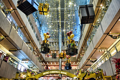 Paragon (chooyutshing) Tags: decorations singapore display celebrations atrium attractions orchardroad paragonshoppingcentre christmasfestival2015