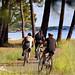 Longez le Lac Nord par la piste cyclable