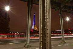 _MG_7628 (Laurent Garric) Tags: blue red white paris france tower french rouge novembre tour flag eiffel bleu hommage 13 blanc franais drapeau tricolore 2015 attentats