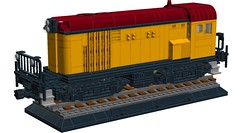 English Electric 800 Class Locomotive (RS 1990) Tags: train lego loco locomotive ideas moc ldd englishelectric cuusoo digitaldesigner 800class