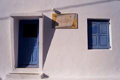 Amorgos - Katapola - façade (luco*) Tags: door house window greece porte maison fenêtre grèce façade cyclades amorgos kyklades hellada katapola flickraward flickraward5 flickrawardgallery