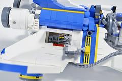 Viper (Genesis) Access Panel (Klikstyle) Tags: lego space spaceship spacecraft starfighter vicviper