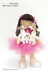Bailarina (Dani_Fressato) Tags: doll handmade artesanato craft hamster feltro boneca patch coelho bailarina trabalhomanual ratinho ideias retalhos danifressato