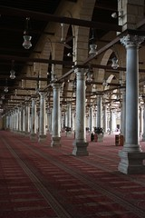 Cairo - Amr ibn al-As Mosque (Anduze traveller) Tags: egypt middleeast mosque cairo egypte mosquée lecaire amribnalas