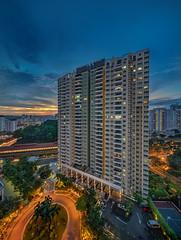 The Jade Condo (Andrew Ker) Tags: sunrise singapore shift jade tilt bt tse batok the 17mm a7rii a7r2