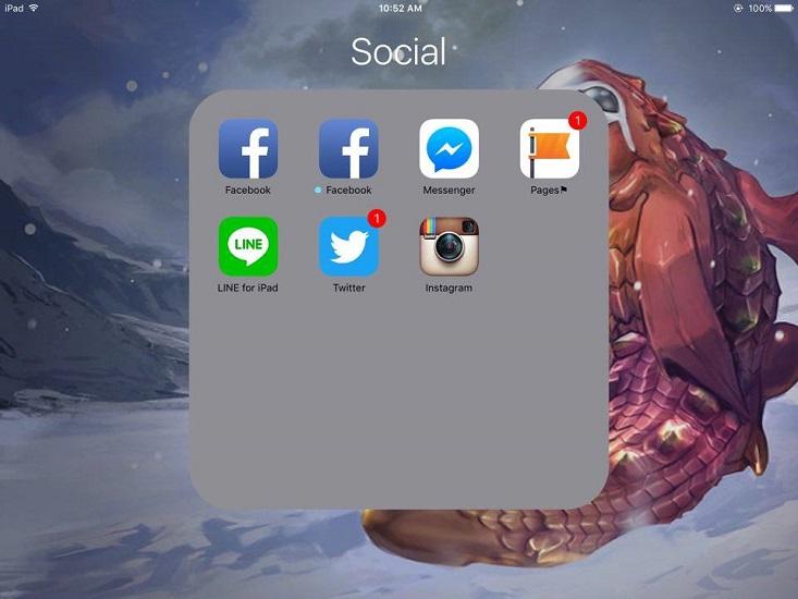 របៀបទាញយក Facebook បានពីរ ដោយមិនចាំបាច់ប្រើ Messenger សម្រាប់ iOS 9 (Jailbreak និង មិន Jailbreak)