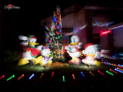 Rocklin Christmas Lights 2015 (DreyerPictures (3 million views - Thank You!)) Tags: california christmas longexposure night dark lumix us lowlight unitedstates outdoor panasonic rocklin coloful gx8 m43 mirrorless microfourthirds m43ftw dreyerpicturescom