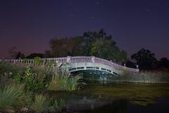 The Iron Bridge (Jimmy - S) Tags: iorn bridge lightpainting longexposure photography suffolk uk culford