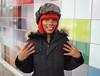 Dana (Explore) (jeffcbowen) Tags: dana street stranger toronto redhair nails nailpolish hands portrait hat