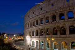 "Coliseo Romano (Colosseum or ""Flavian Amphitheatre"") copyright (CAUT) Tags: night noche nocturna nocturnal calle street roma rome vatican vaticano italia italy 2016 caut nikond610 nikon d610 travel viajar twilight crepusculo blue azul bluehour horaazul coliseoromano roman coliseo coliseum colosseum flavianamphitheatre"