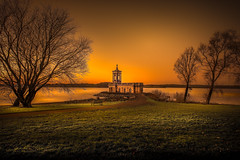 Hello 2017 (unciepaul) Tags: 2017 january cold normanton church halfhouraftersunset first shot year landscape glow rutlandwater longwalkbutworthit poem lightroomhdr long exposure nikon d800 tripod nd filter