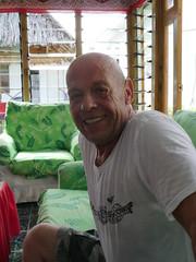 A dutch guy i met i Tarawa, he was here to said from Kiribati to The Philippines!