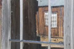 Reflections, Bodie, a Ghost Town, California (kmalone98) Tags: landscapes reflectionsinglass 1880sarchitecture bodieca kathymaloneflickr