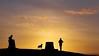 sunset at the top of The Wrekin (David_W_1971) Tags: sunsetsunrise wrekinercall