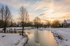 Beukenpark-44-1 (stevefge) Tags: beukenpark beuningen landscape snow winter park nederland netherlands nature nl natuur water trees sky nederlandvandaag reflectyourworld reflections sneeuw