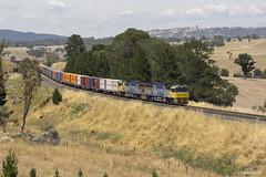 1881 XRN030-XRN012 Locksley 8-1-17 (ctonkin85) Tags: xrnclass freightliner locksley containertrain xrn030 xrn012 uglc44aci