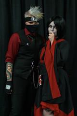 _DSC9769 (In Costume Media) Tags: orochimaru cosplay costume newcon newcon5 pdx naruto shippuden jiraiya kakashi sensei ninija cosplays cosplayers evil snake fight dark green eyes