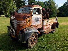 1946 Dodge Wrecker (Rotten_Spokes) Tags: dodge wrecker cabover coe 1946