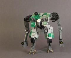 Ozornik (Dryvvall) Tags: drone dronuary robot walker mech