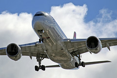 Airbus A350-941 (PR-XTD) 5.2.2017 (Mariano Alvaro) Tags: airbus a350 941 latam madrid barajas sao paulo avion aviones spotting