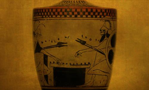 "Petteia - Ludus Latrunculorum  / Iconografía de las civilizaciones helenolatinas • <a style=""font-size:0.8em;"" href=""http://www.flickr.com/photos/30735181@N00/32481385206/"" target=""_blank"">View on Flickr</a>"