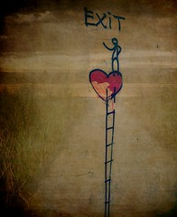 Art in Florence. (France-♥) Tags: texture brendac coeur heart wall art florence firenze italy ladder echelle 3974 exitenter fabuleuseenfêtesv