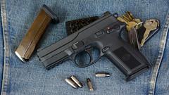 JAB8747 (Joseph Berger Photos) Tags: fnh fnx9 9mm pistol guns gun firearms