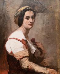 Camille Corot, Sibylle, ca. 1870 (Sharon Mollerus) Tags: metropolitanmuseumofart newyork unitedstates cfpt17