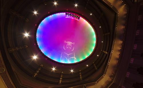 Peabody Opera House ceiling