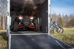 cargomate toyhyauler motorcycletrailer atvtrailer snowmobiletrailer forestriver customtrailer