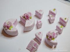 P1050268 (Zulifa miniatures) Tags: mini cakes cake miniature dollhouse zulifaminiatures торт миниатюра едадлякукол