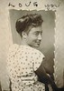 """Love you"" (sctatepdx) Tags: photobooth 1940s africanamerican africanamericanwoman vintagedress vintagephotobooth"
