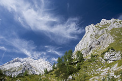 A nice day in the Alps (cokanj) Tags: mountain alps tourism trekking landscape nationalpark outdoor hiking slovenia triglav ecotourism planinarenje planina pejzaz