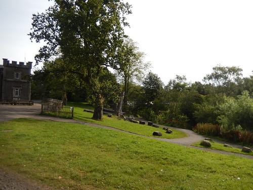 Slope beside Mugdock Park Visitor Centre