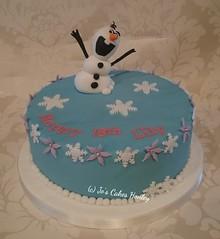 Frozen Olaf 18th Birthday Cake (White Rose Cake Design) Tags: birthday cake olaf frozen 18th ideas holmfirth