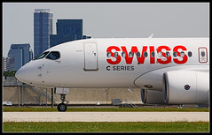 Toronto 1st Visit: C-GWXZ Bombardier CSeries CS100 (Tom Podolec) Tags:  way this all image may any used rights be without reserved permission prior 2015news46mississaugaontariocanadatorontopearsoninternationalairporttorontopearson