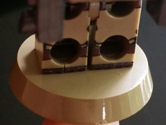 I put it on a plate and it cracked ;-; (Keaton FillyDing) Tags: lego figure brickarms brickforge eclipsegraphix