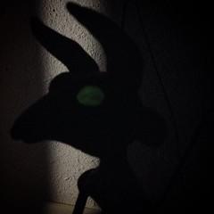 Photo (Thunder Jay Studio) Tags: eyes glow being horns wip creepy fantasy jersey devil pinebarrens cryptozoology sneaksy cryptid jerseydevil instagram ifttt thunderjaystudio